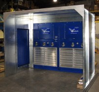 EBM Booth With Door